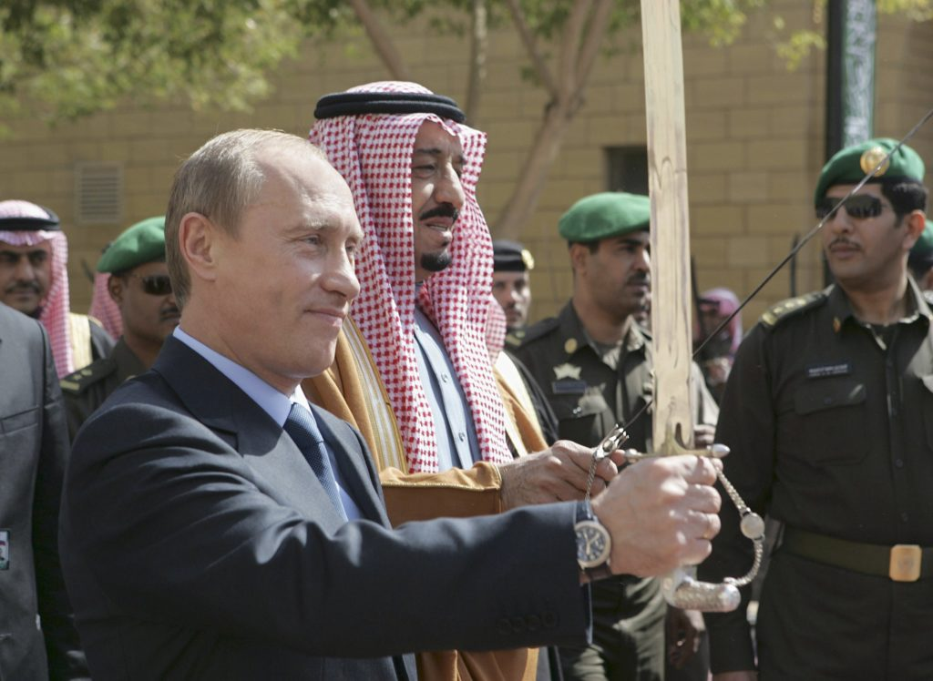 Russia & Saudi Arabia Sign Billion Dollar Deals During King's First Ever Visit