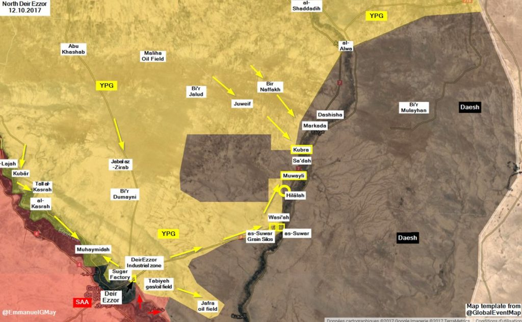 SDF Advances In Raqqa City And Deir Ezzor Countyside (Photos, Map)