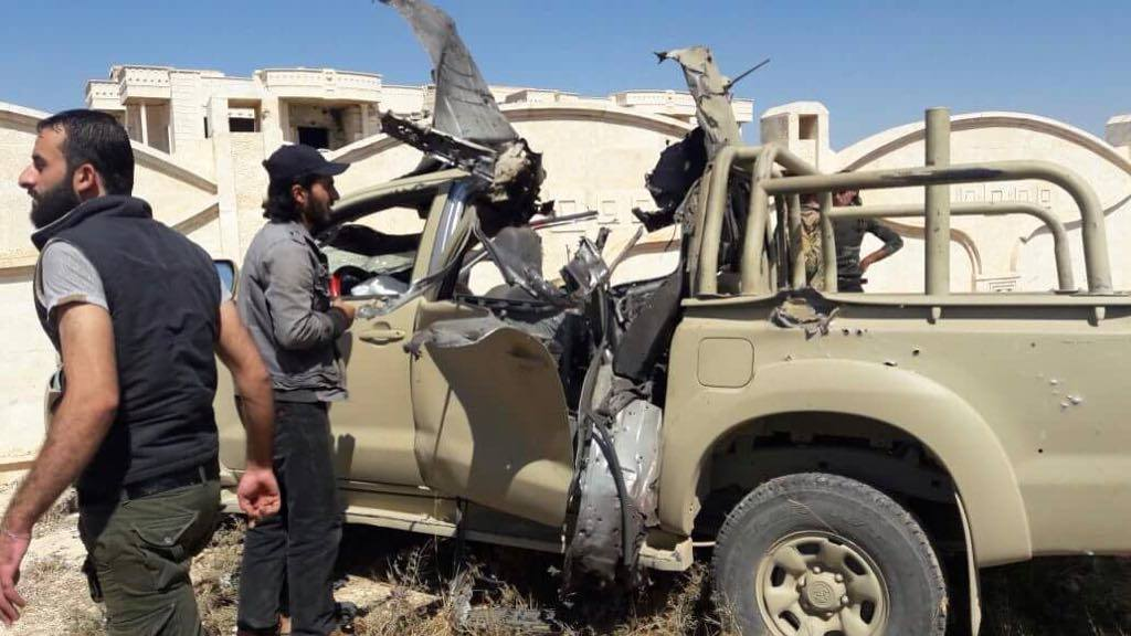 Five Commanders Of Free Syrian Army Were Assassinated In Daraa In October