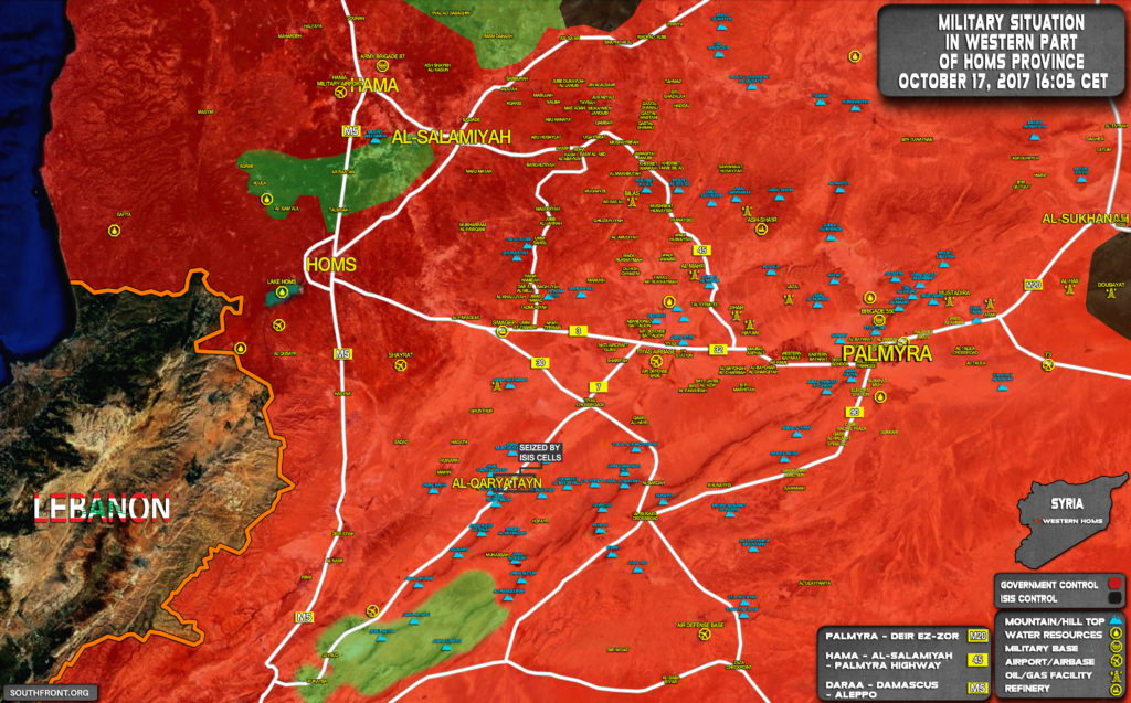 Syrian Army Cleared Entire Eastern Salamiyah Countryside From ISIS Terrorists (Maps)