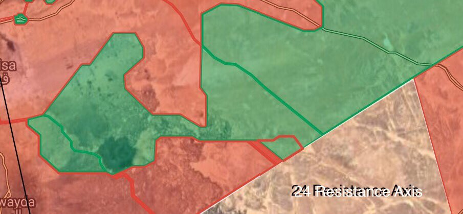 Syrian Army Further Pushes Along Jordanian Border, Captures 10 Border Garrisons (Maps)