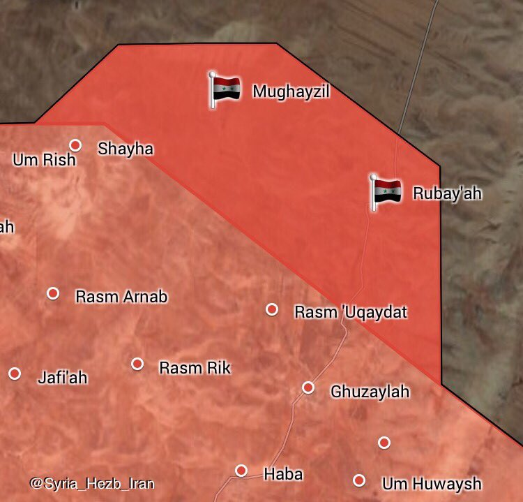 Syria Map Comparison: ISIS-held Pocket In Eastern Salamiyah Decreased From 3,270km2 To 480km2