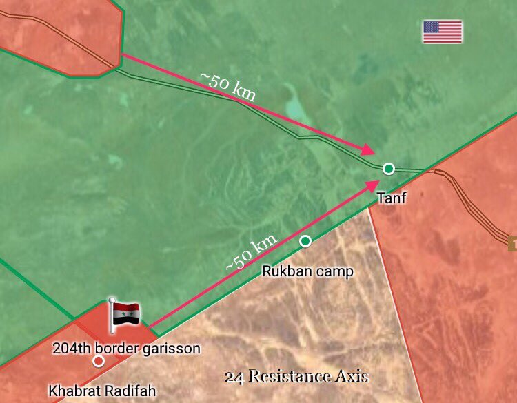 Syrian Army Takes Control Of 9 Garrisons Along Border With Jordan (Maps)