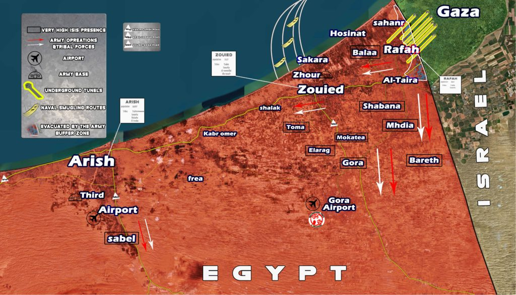 Terrorist Activity And Security Situation In Egypt's Sinai