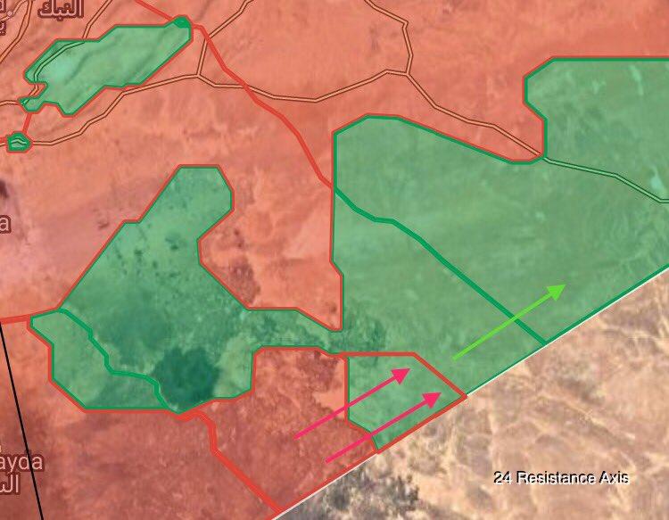 Syrian Army Liberates Rajm Bark Near Border With Jordan (Maps)