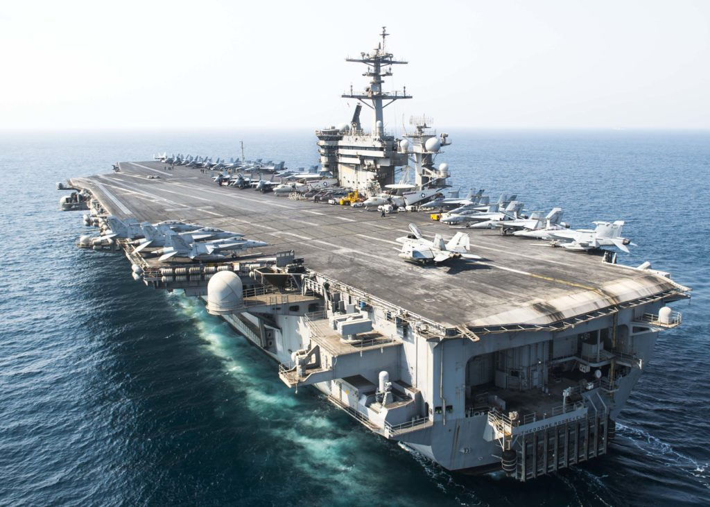 US Sends Second Aircraft Carrier Group To North Korea's Shores