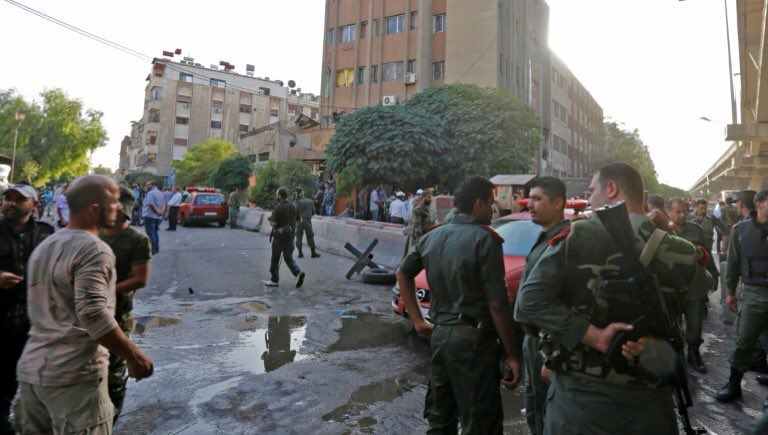 ISIS Attacks Syrian Police Headquarters In Damascus City (Photos)