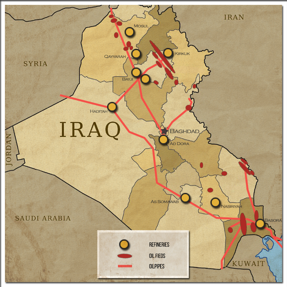 Kurdistan Leadership Reach Deal With Baghdad Kurdish Forces To - Middle east physical map 2003