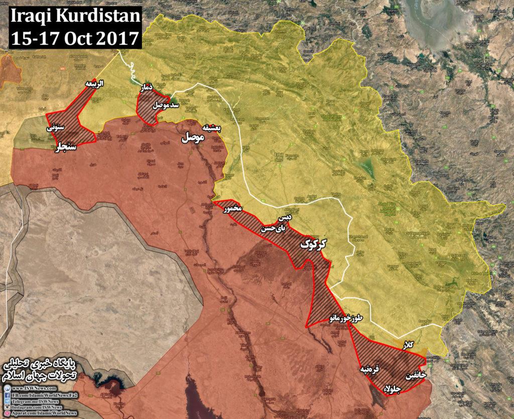 Iraqi Forces Retake Strategic Mosul Dam From Kurdish Peshmerga