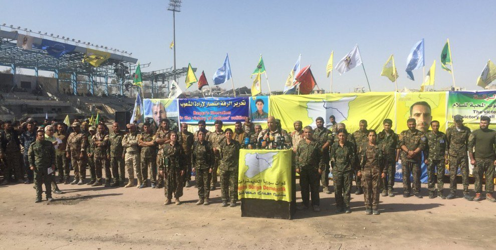 """Syrian Democratic Forces: Raqqa Will Be Part Of """"Federal Syria"""""""
