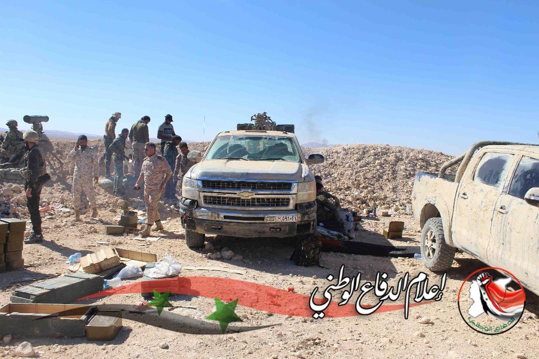 Syrian Army Tightens Grip On ISIS-held Al-Qaryatayn Town In Homs Province