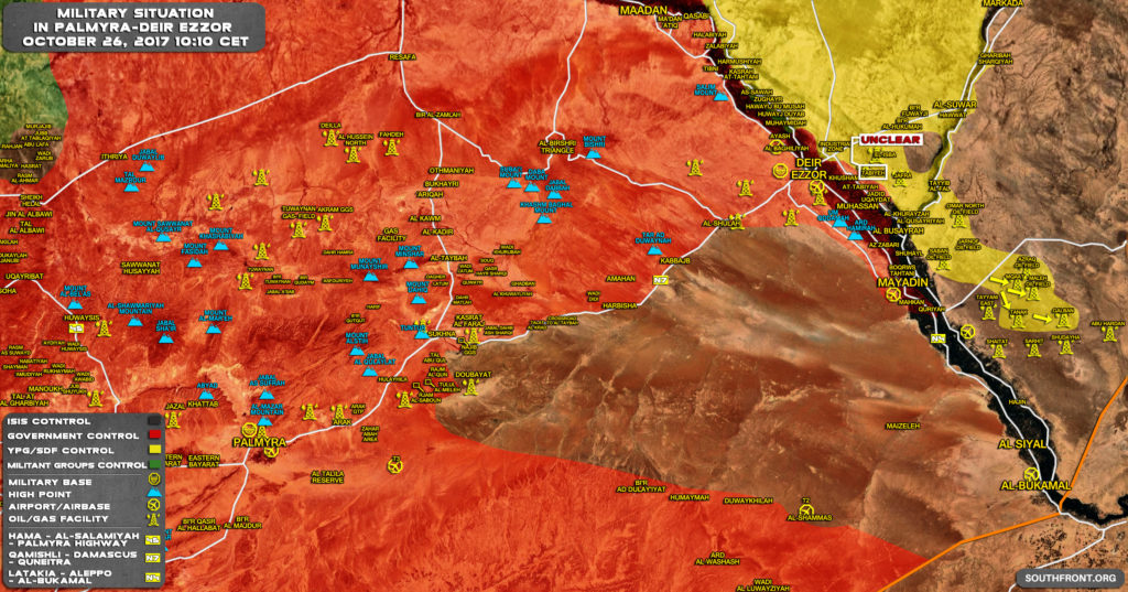 US-backed Forces Seized Major Part Of Oil And Gas Infrastructure On Eastern Bank Of Euphrates (Map)