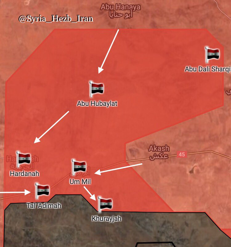 Overview Of Battle For Central Syria On October 4, 2017 (Maps, Photos, Videos)