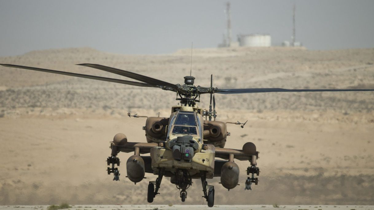 Israeli Helicopters Attack Military Positions In Southern Syria