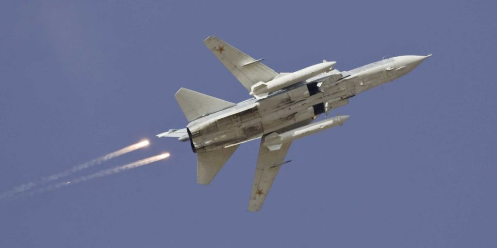 Russian Warplanes Destroyed 4 ISIS Tanks, 3 APCs, 14 Vehicles, 2 Rocket Launchers In Syria's Deir Ezzor Province