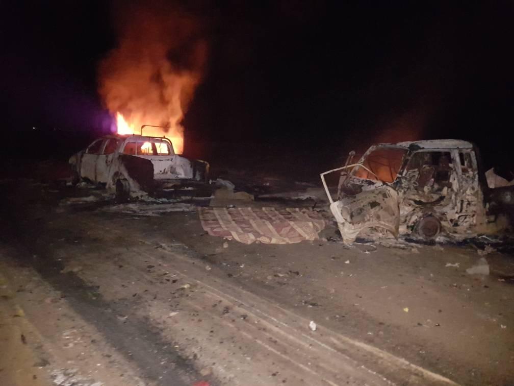 ISIS Attacks Civilians Fleeing Its Areas Via Al-Hasakah–Deir Ezzor Highway (Photos)