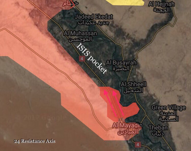 In Maps: Syrian Army's Gains North And East Of Deir Ezzor City