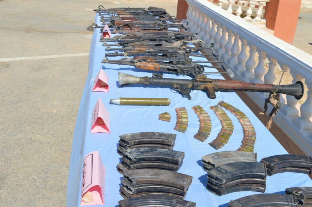 Security Forces Killed 6 Terrorists, Seized Their Weapons In Egypt's North Sinai (Photos)