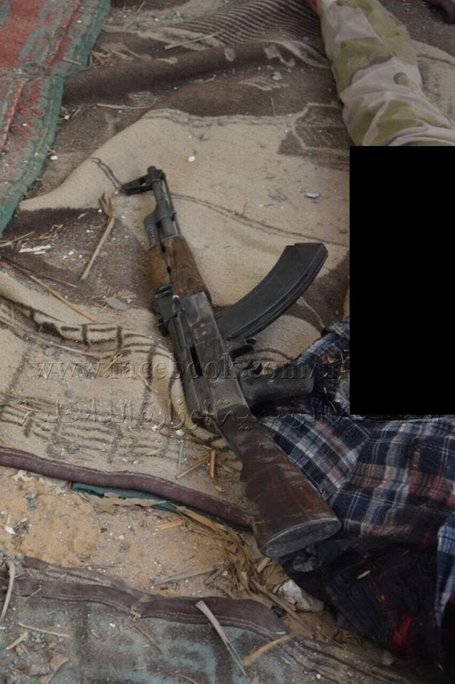 Security Forces Eliminate 13 Militants In Central Egypt (Photos)