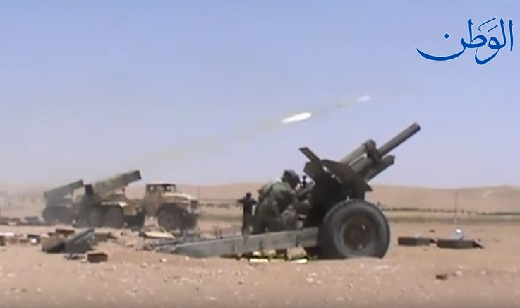 Syrian Army Storming ISIS-held Mayadin City In Deir Ezzor Province - Photos