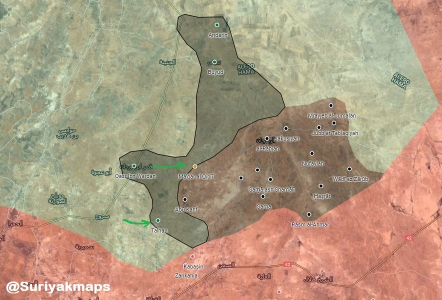 Hayat Tahrir al-Sham Recaptures Two Villages From ISIS In Syria's Northern Hama