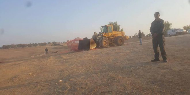 Israeli Forces Demolished Al-Araqeeb Village For 120th Time