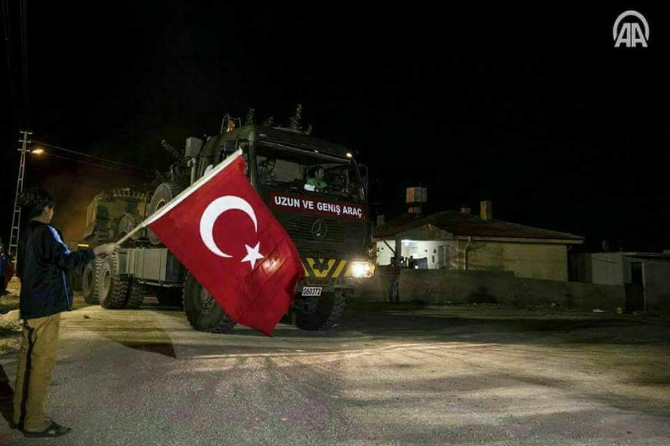 Turkish Troops And Vehicles Entered Syria's Idlib Countryside (Video, Photos)