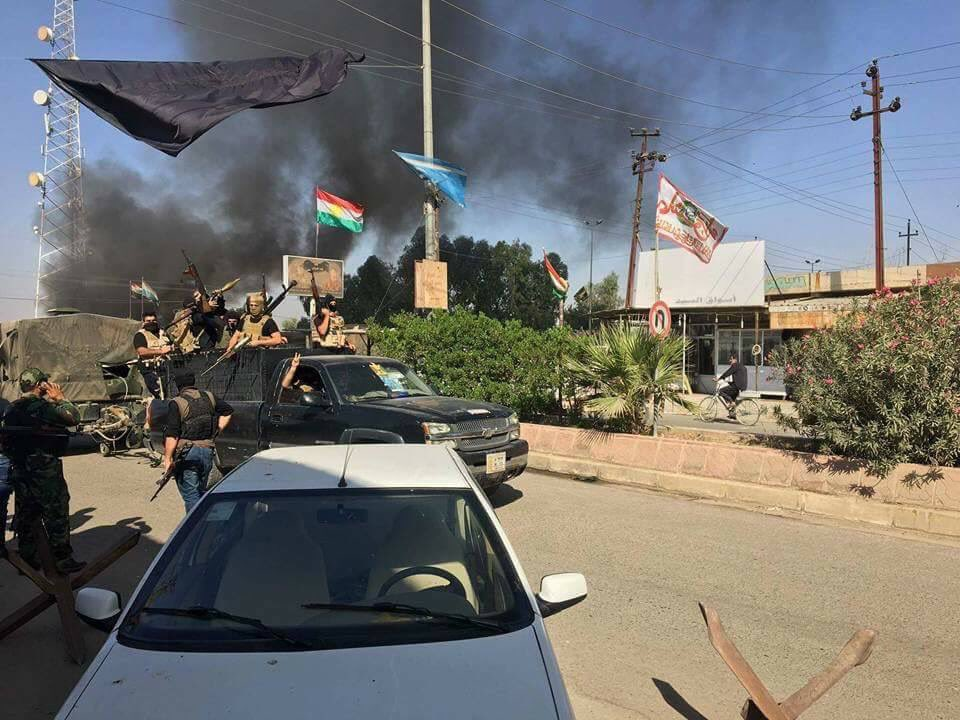 Overview Of Clashes For Kirkuk: Iraqi Army Captures K1 Airbase, Enters City (Photos, Videos)