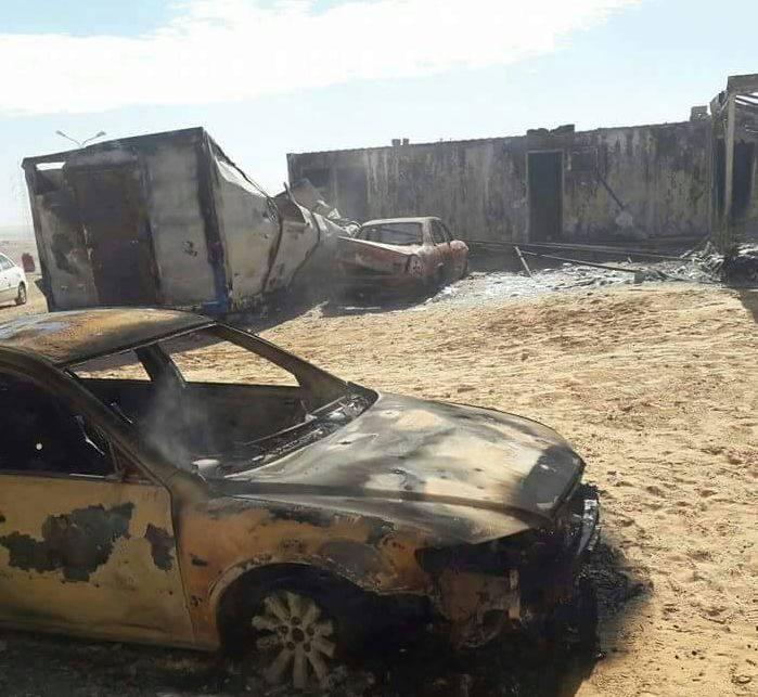 ISIS Attacks Libyan National Army South Of Ajdabiya City