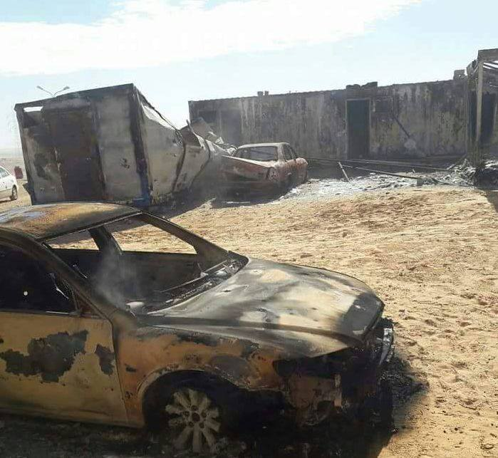 ISIS Attacks Libyan National Army South Of Ajdabiya City