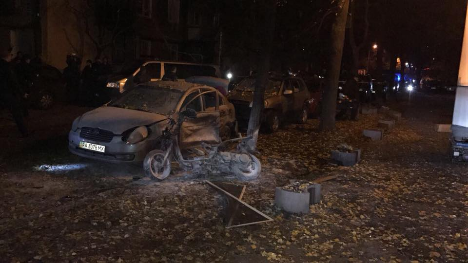 Ukrainian MP Injured, His Bodyguard Killed In Explosion In Kiev