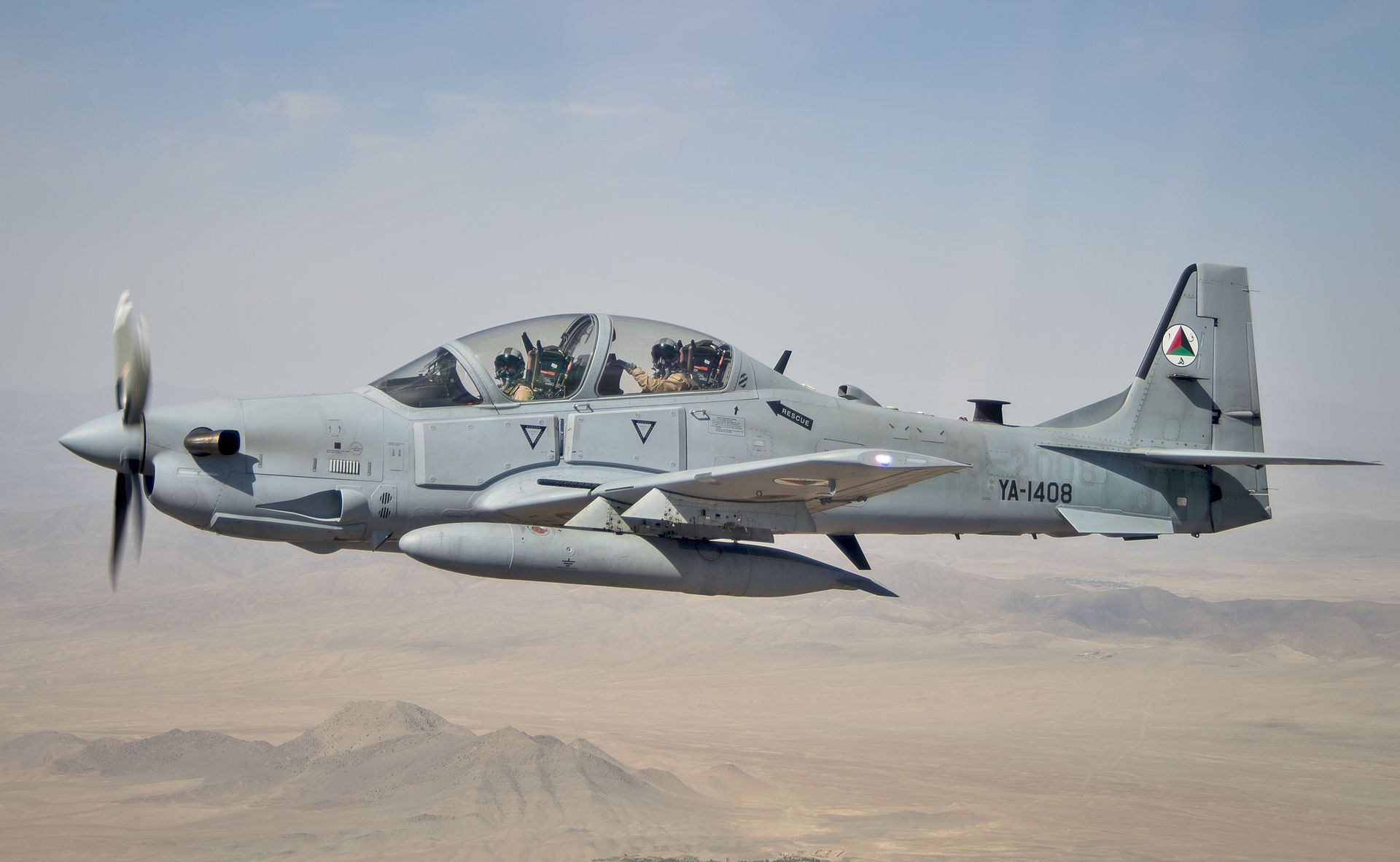 US Buys 6 Additional A-29 Warplanes For Afghan Air Force