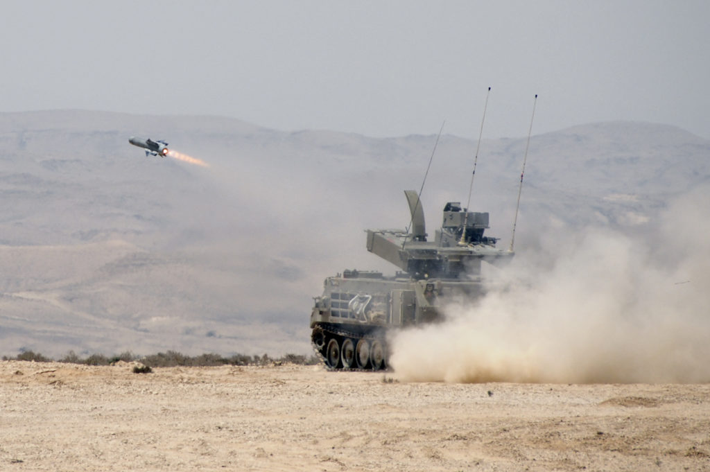 Israel Strikes Syrian Army In Southern Syria With Spike Missile