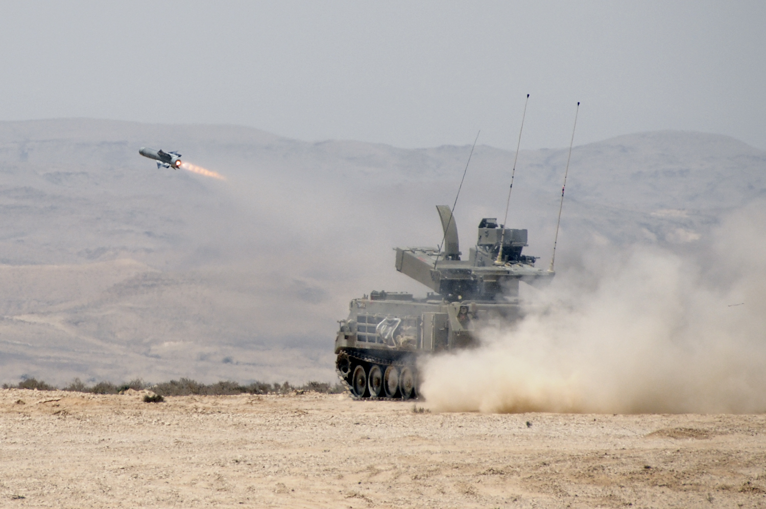 Israeli Guided Non-Line-of-Sight Missiles Target Rocket Launchers In Gaza (Videos)