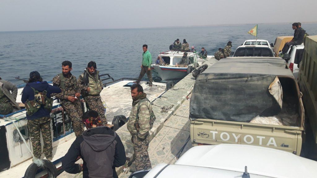 SDF To Gain Control Over Eastern Bank Of Euphrates As Result Of Unprecedented Deal With ISIS - SOHR