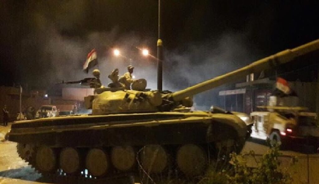 Breaking: Iraqi Army Launches An Operation To Capture Kirkuk City