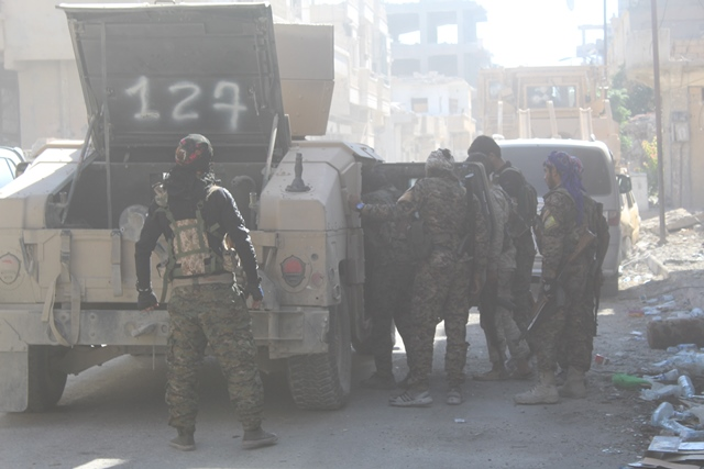 Syrian Democratic Forces Capture Al-Barid District In Raqqa City, Repel ISIS Attack In Deir Ezzor Countryside