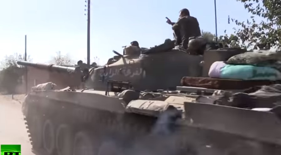 Video: Syrian Forces Advance On Eastern Bank Of Euphrates