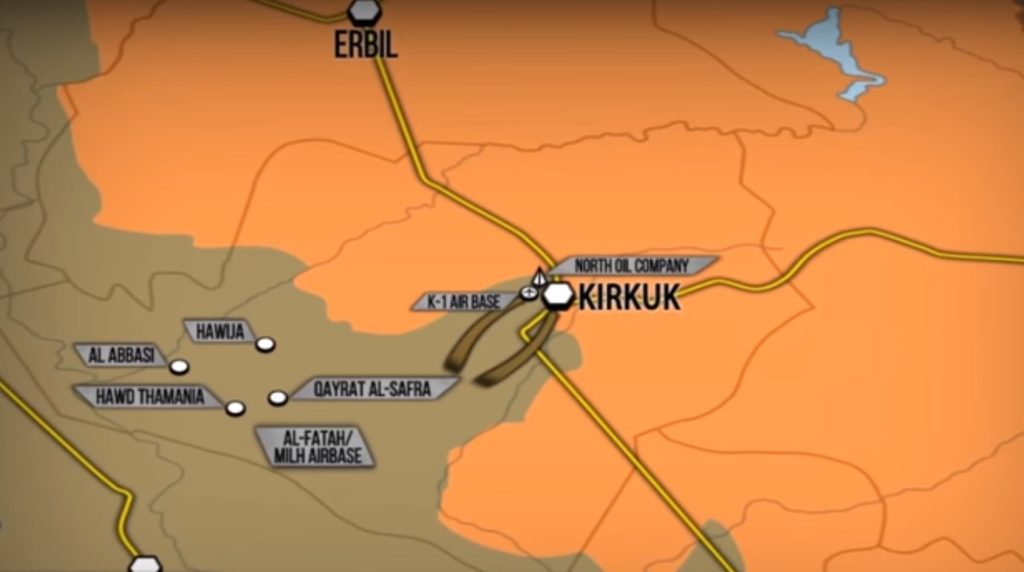 Iraqi Forces Regain Full Control Over Kirkuk City. Pro-Barzani Forces Retreat (Map, Photos, Video)