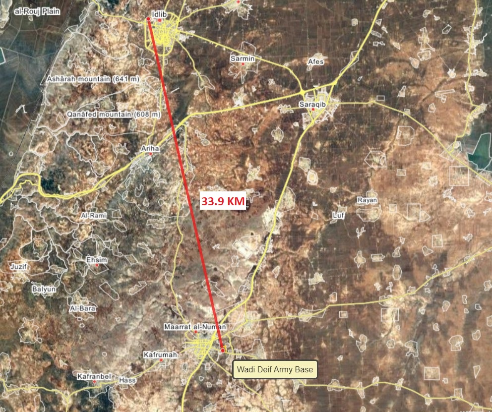 """Al-Qaeda-Linked """"Opposition"""" Hands Over Wadi Deif Military Base To Turkish Army In Syria's Idlib Province"""
