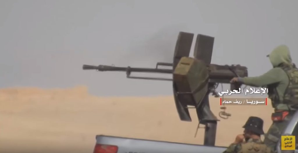Video: Syrian Troops Advancing On ISIS And Al-Qaeda In Hama Countryside