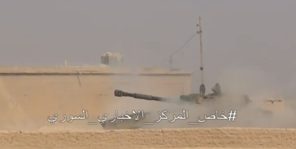 Syrian Army Tiger Forces In Battle For Mayadin City (Video)