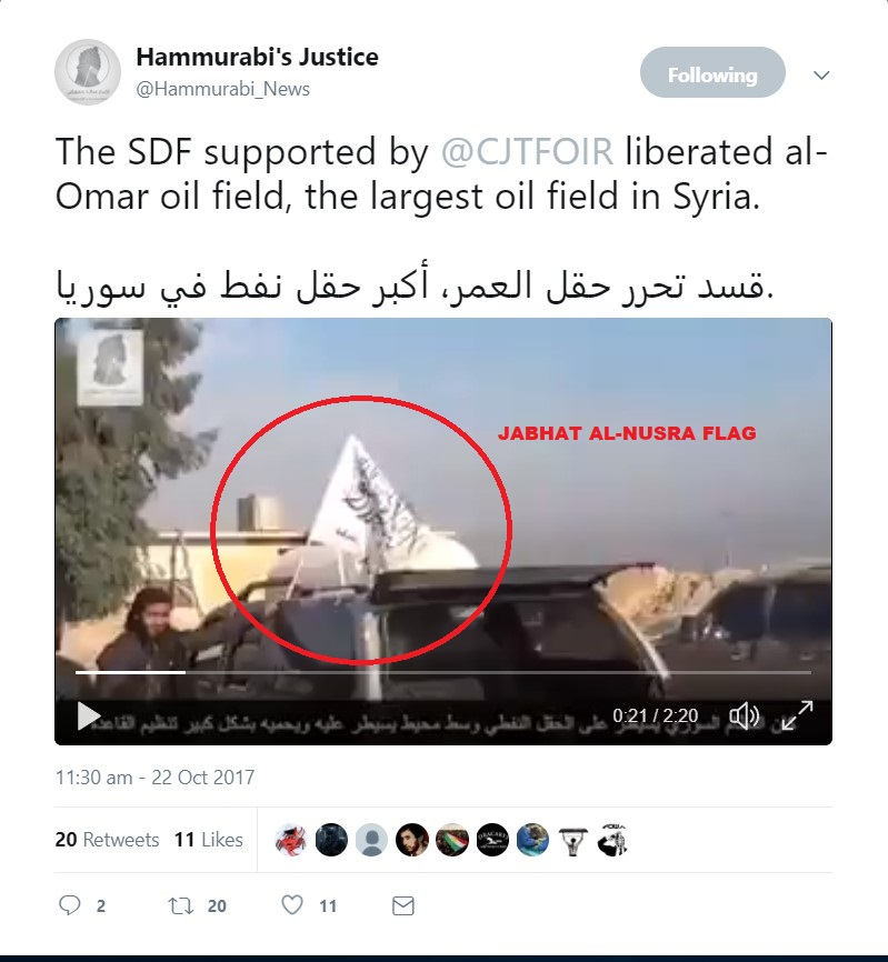 US-backed SDF Allegedly Seized Omar Oil Fields. But What Is Really Going On? [UPDATES]