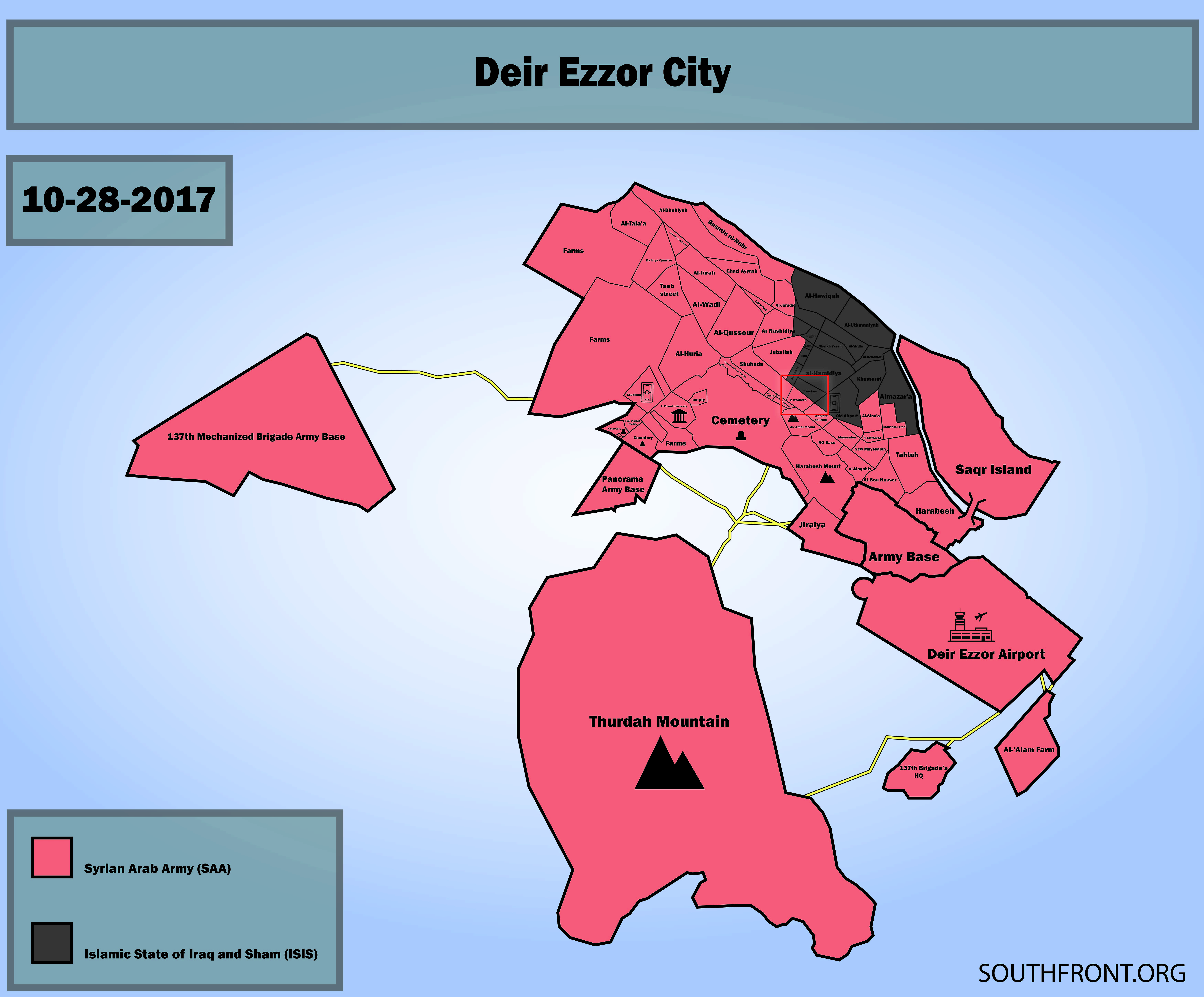 Syrian Army Forces ISIS To Retreat From More Points In Center Of Deir Ezzor City (Map, Photos, Videos)