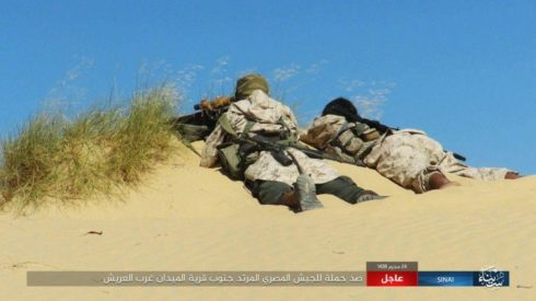 Egyptian Army Suffers Casualties In Failed Attack Against ISIS Near al-Midan (Photos, Map)