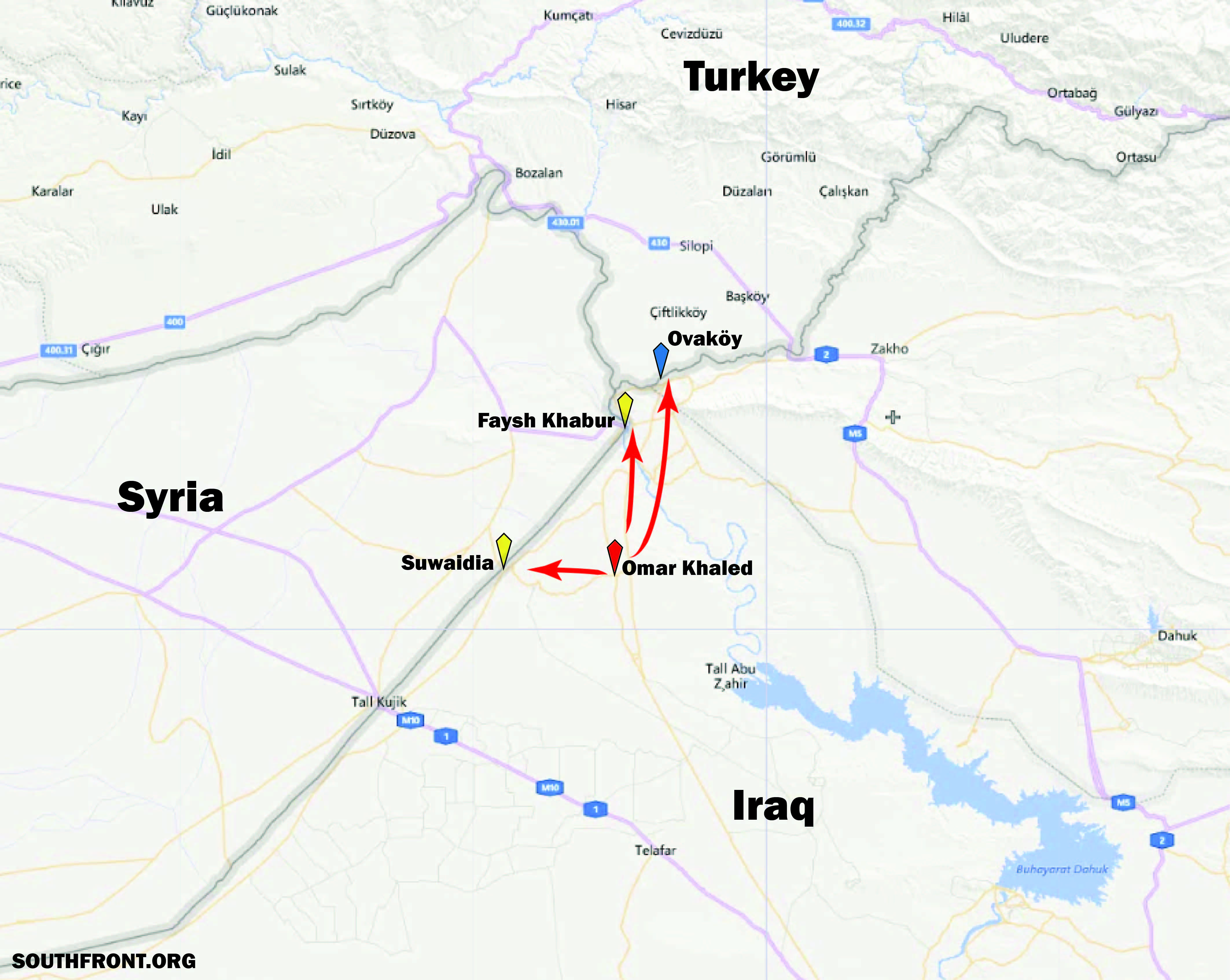 Turkey And Iraqi Government Agree To Open New Border Crossing, As Kurdish-Arab Tensions Heat Up In Northern Iraq