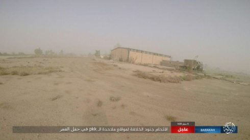 ISIS Attacks Syrian Democratic Forces Positions In Omar Oil Fields (Photos)