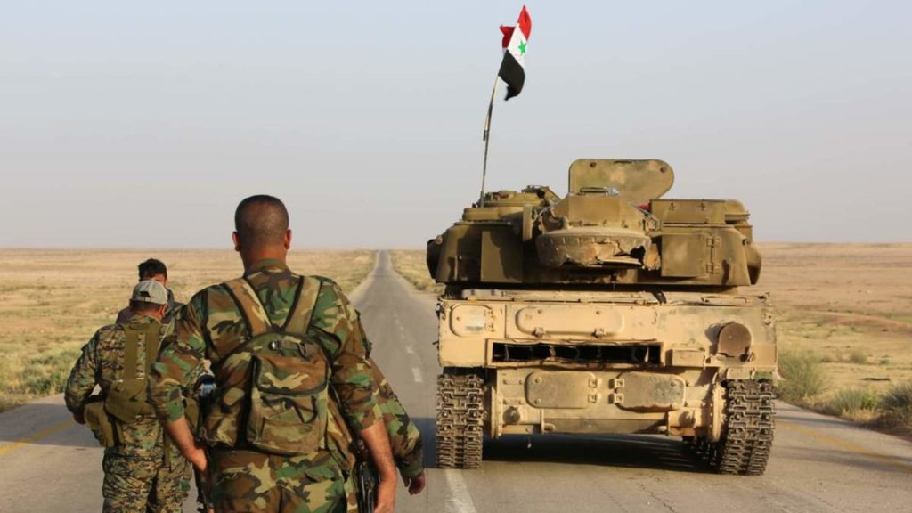 Syrian Army Advanced 8km Toward ISIS-held T-2 Station In Deir Ezzor Province