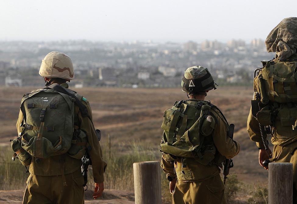 Israel Designated Gaza Strip Perimeter Closed Military Zone