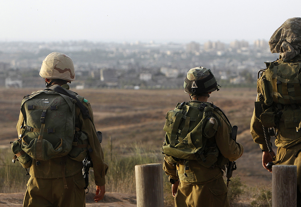 Israel Designated Gaza Strip Perimeter Closed Military Zone